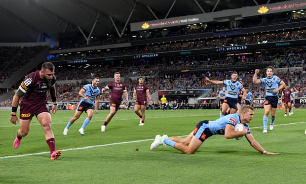 NSW satisfy need for speed as Blues run Maroons ragged in State of Origin opener