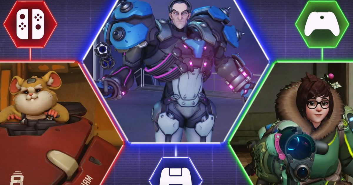 Overwatch now supports cross-platform play on PC and console